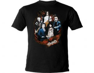 Aerosmith 'Flames' T-Shirt